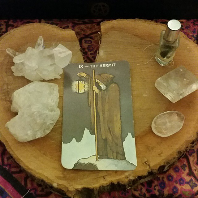 Ther Hermit Tarot Card